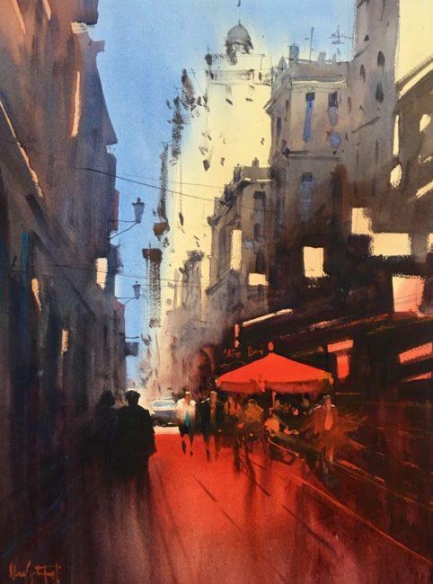 Calle Parisina - Alvaro Castagnet